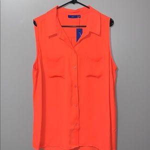 Apt.9 sleeveless blouse plus size 1X